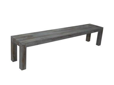 Global Imports GSP0259D Smoke Sheesham Bench.83""