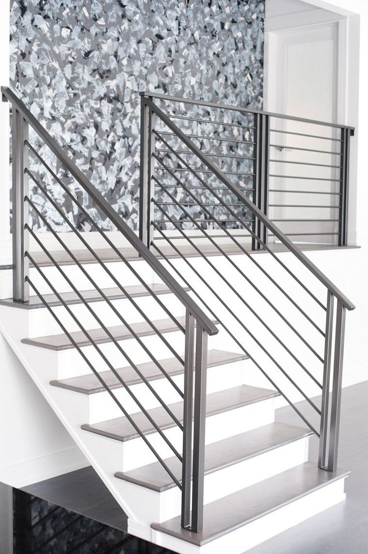 Best Modern Wrought Iron Railing Smw Modern Iron Stair 400 x 300