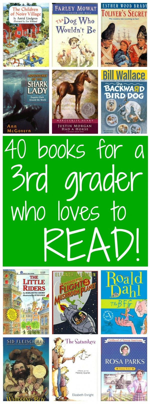 Reading list for a voracious 3rd grade reader from Walking by the Way