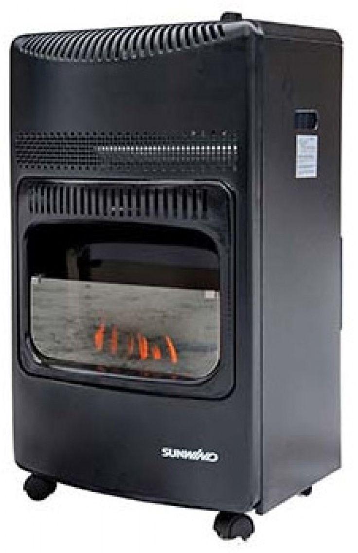Todella näyttävä ja tyylikäs kaasulla toimiva lämmitin joka keltaisen avoliekkinsä ansiosta muistuttaa takkaa. Luovuttaa lämpöä nopeasti ja toimii siten erinomaisesti kylmän tilan nopeaan lämmittämiseen.