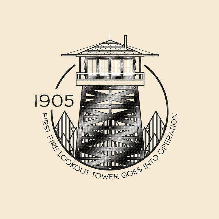 This Day In History - June 10 - 1905 - The first forest fire lookout tower goes into operation in Greenville ME. Fun Fact: My great grandfather lived in the fire lookout tower on Palomar Mountain in Souther California. Hearing my grandma tell stories about spending time in the tower is awesome. I just found out you can rent a night or two in one of these. Ultimate Air BnB situation!  ---  #thisdayinhistory #todayinhistory #tdih #history #onthisday #minimal #minimalism #simple #minimalist…