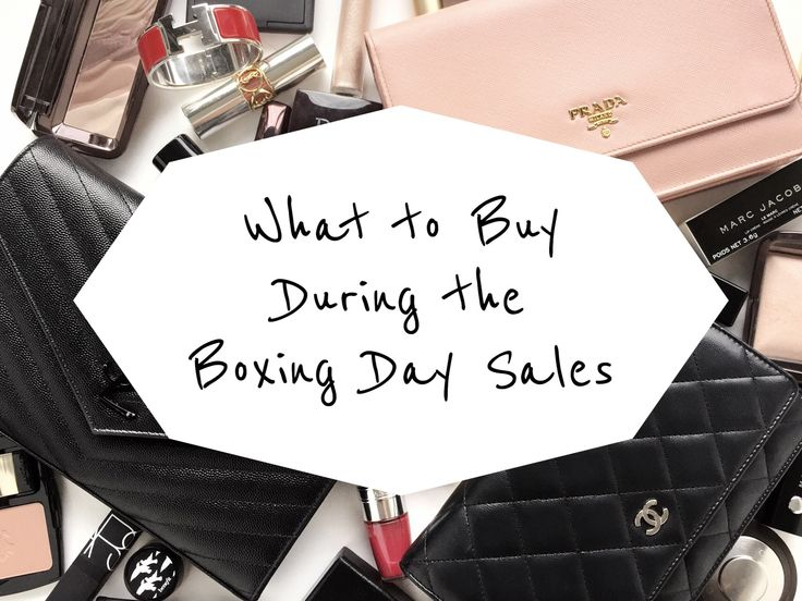 What to Buy During the Boxing Day Sales - Listing of Australian Sales