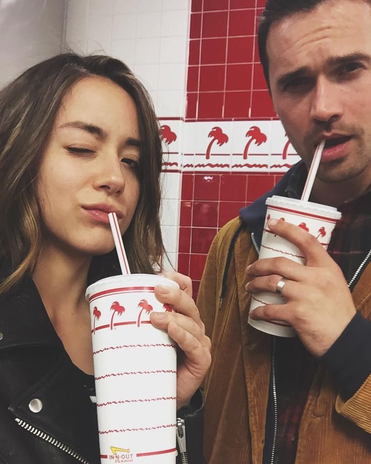 Would you like some fries with that shake Brett??! No, but seriously do you cause I need to put the order in. And yes we spend a lot of time at burger joints together. @imbrettdalton #agentsofshield