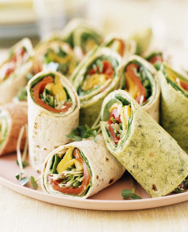 Vegan Cream Cheese Veggie Wraps. A super easy vegan lunch perfect for taking on the go.