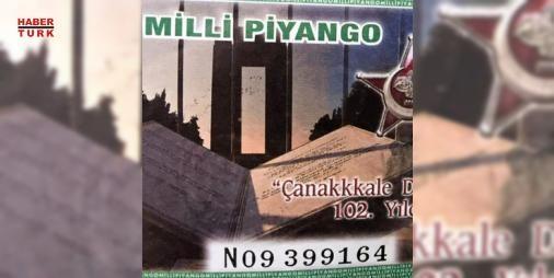 'Talih'siz hata!: Milli Piyango, 1#8Mart Çanakkale Deniz Zaferi'nin yıldönümü nedeniyle 1#9Mart'ta özel çekiliş için bilet bastı. #9Mart'ta piyasaya sürülen 1 milyon bilette Çanakkale yazım hatasıyla 'Çanakkkale' şeklinde yazıldı