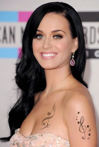 Tattoos for Women Katy Perry