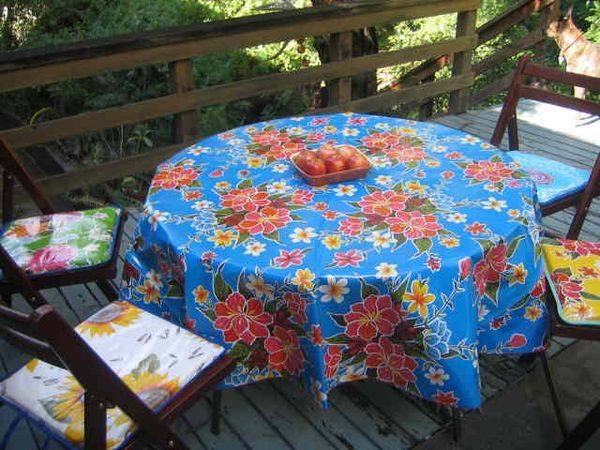 Square And Rectangle Oilcloth Tablecloths Available In Prints. We Also  Offer Cotton Tablecloths In Vintage Print Designs.