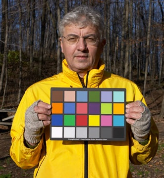 Fingerless Macbeth Colour Chart