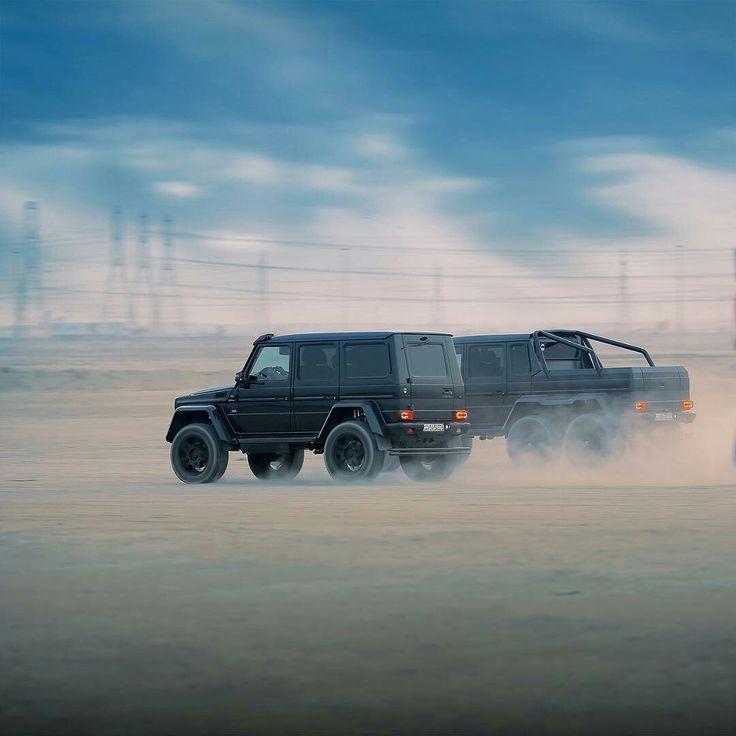 Mercedes G500 4x4² / G63 6x6 W463