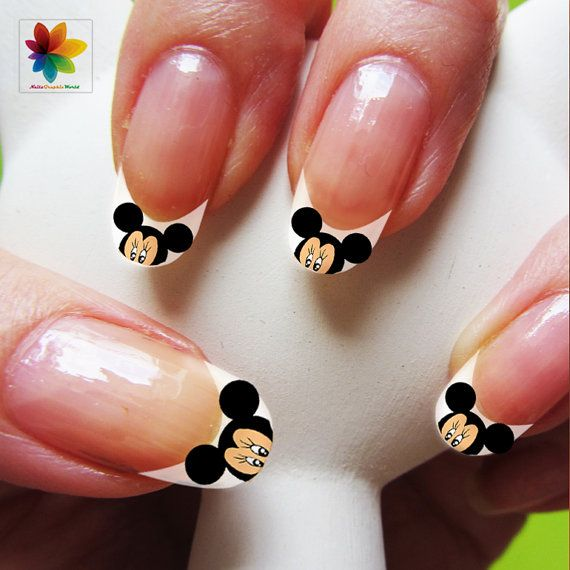Disney nail art cartoon childrens nail art by Nailsgraphicworld, $5.90