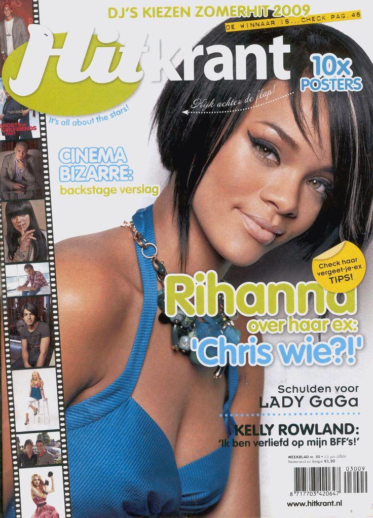 Rihanna - Hitkrant (NL - 2009)