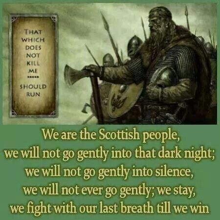 We are the Scottish people