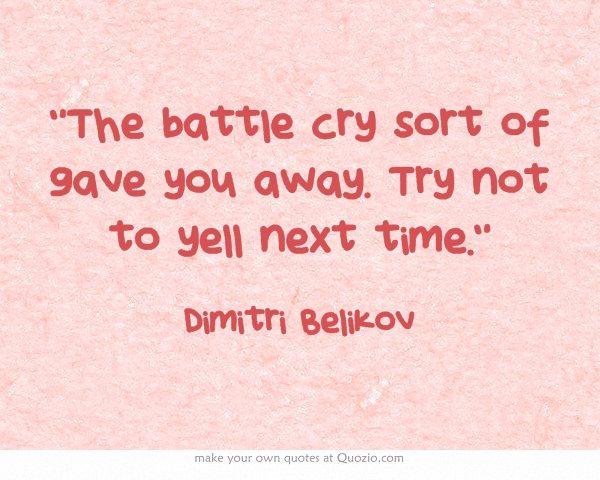 Vampire Academy Quotes   Dimitri Belikov