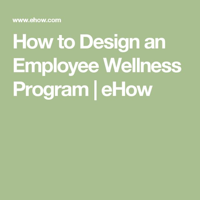 designing a wellness program essay 1 creating your personal stress‐management plan following is a 10‐point plan to help you manage stress all of these ideas can lower stress.