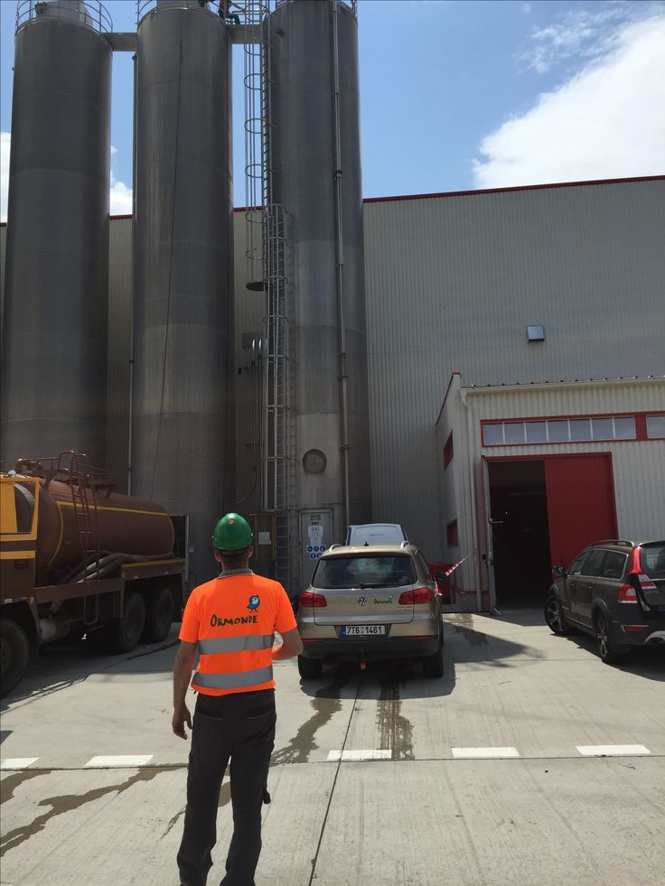 Silo Cleaning using ultra high pressure, Ormonde Slovakia - www.ormonde.sk