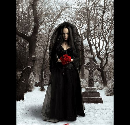 from Titus gothic graveyard girls naked