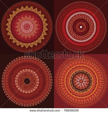 Mandala Pattern Fotos, imágenes y retratos en stock | Shutterstock