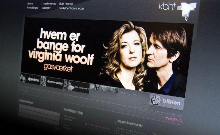 1508 - Københavns teater. En stigning i det online billetsalg på 60% var resultatet, da Københavns Teater og 1508 lod tæppet falde for en ny stærk visuel identitet og et salgsfokuseret website.