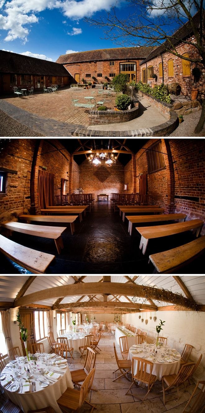 The Curradine Barns wedding venue in Worcestershire