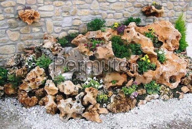Roccia ornamentale per arredo giardini Barletta-Andria-Trani in Permuta, Giardino, Prato e Orto - Permute.it