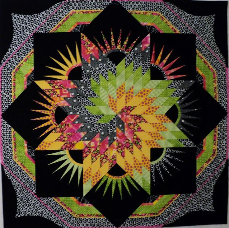 Lone Star Quilts Spiral Lone Star By Barbism Quilting