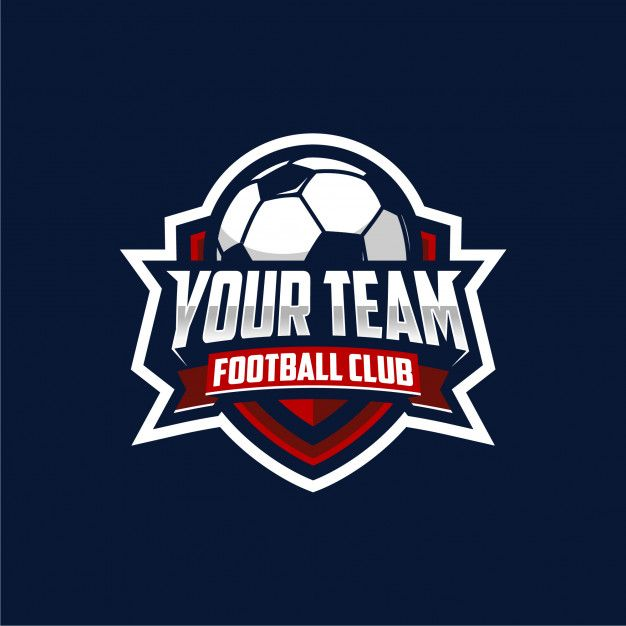 Football Club Logo In 2020 Soccer Logo Football Logo Design Football Team Logos