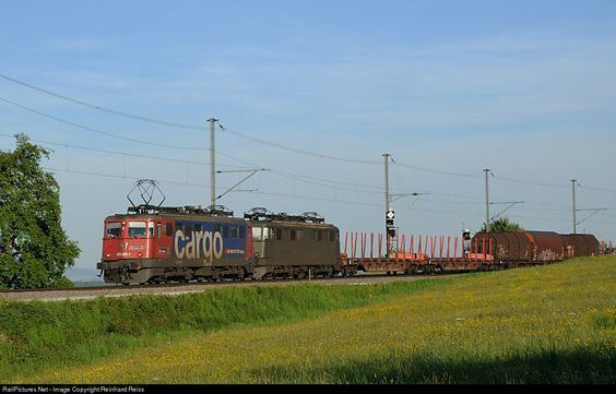 RailPictures.Net Photo: 610 492 SBB CARGO Ae 6/6 at Lottstetten, Germany by…