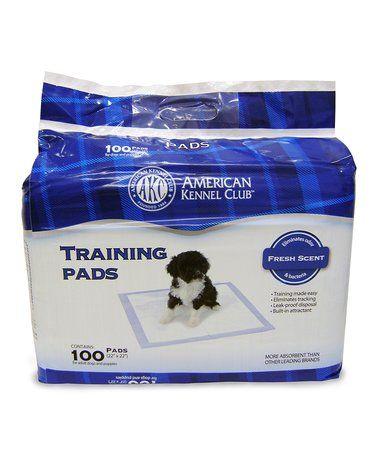 Look at this #zulilyfind! White Puppy Training Pads #zulilyfinds