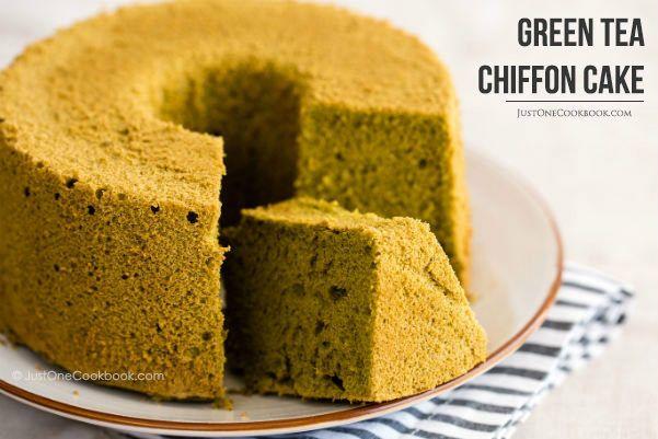 Green Tea Chiffon Cake | Recipe | Gluten, Cake mixes and Green teas