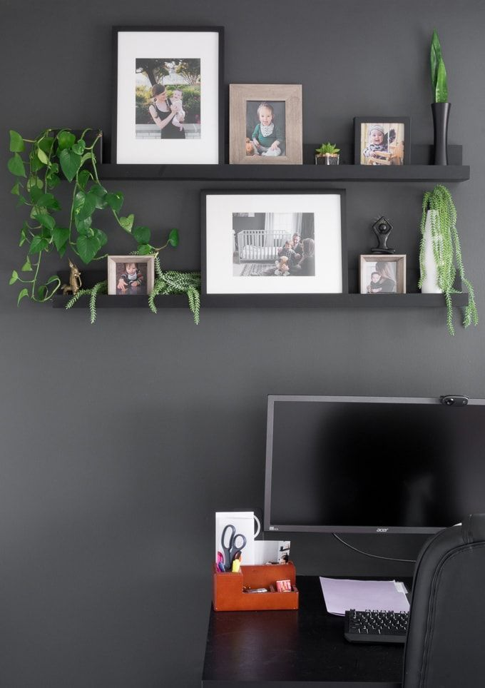 Diy Photo Ledge Shelves Inspired By Ikea S Mosslanda Line