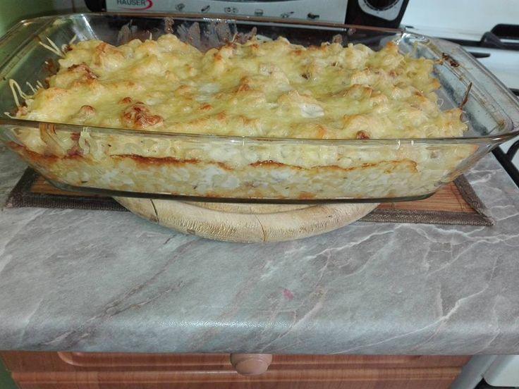 Rakott tészta szalonnával és jó sok sajttal! Első kóstolásra kedvenc lett! - Ketkes.com