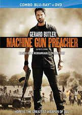 Machine Gun Preacher (Blu-ray/DVD, 2012, Canadian)
