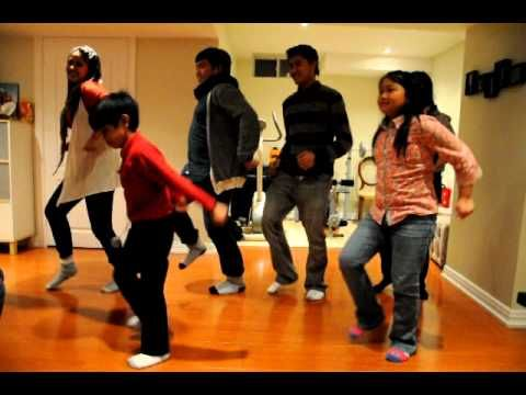 Jingle Bell Rock Dance - YouTube
