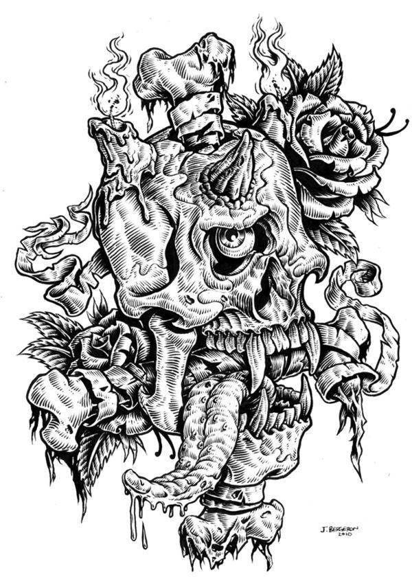 Johnny Crap Illustration