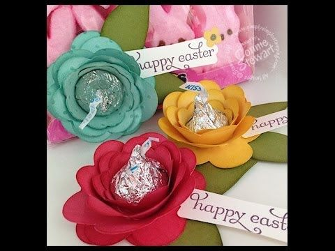 STAMPIN' GALS GONE WILD WEDNESDAY - Hershey Kisses Flowers - VIDEO TUTORIAL