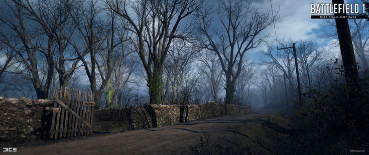 ArtStation - Battlefield 1: They Shall Not Pass: Verdun Heights, Joakim Stigsson