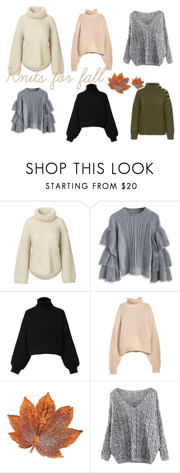 """Knits for fall"" by idahedbom on Polyvore featuring Chicwish, Diesel and Boutique Moschino"