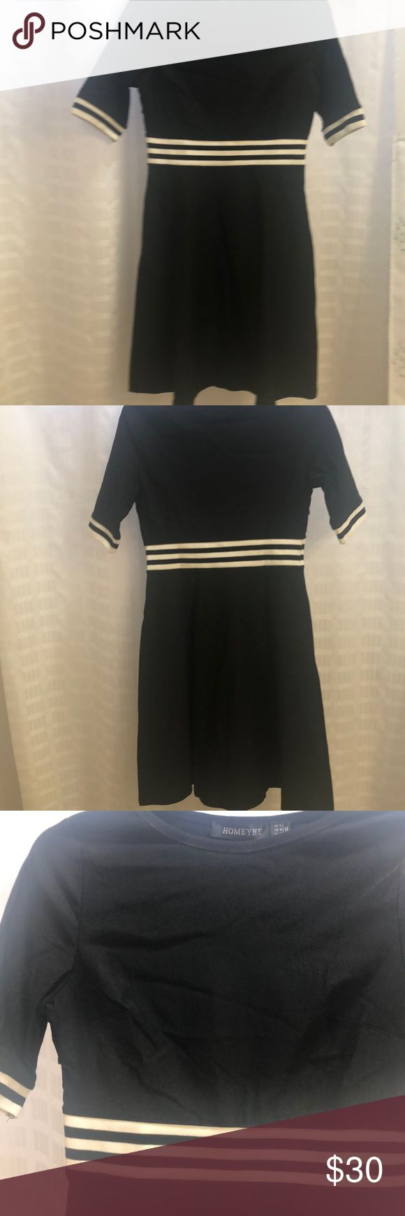 Beautiful little black dress by Homeyee Classic LBD NWT in perfect condition....... 3