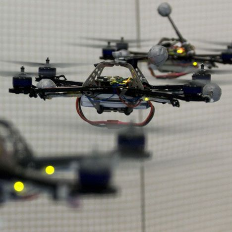 Swarm Technology could be great for remote building.