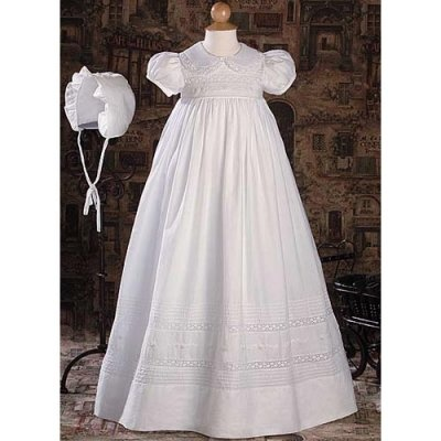 Harmony Cotton Christening Gown
