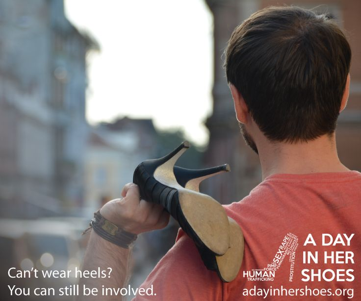 Will you wear heels all day on July 30 to put yourself in the shoes of women who suffer from trafficking? You can also donate $20, $35, $50 or whatever you can to help prevent human trafficking right where it happens. Show that you care today by registering at http://adayinhershoes.org/ #adayinhershoes