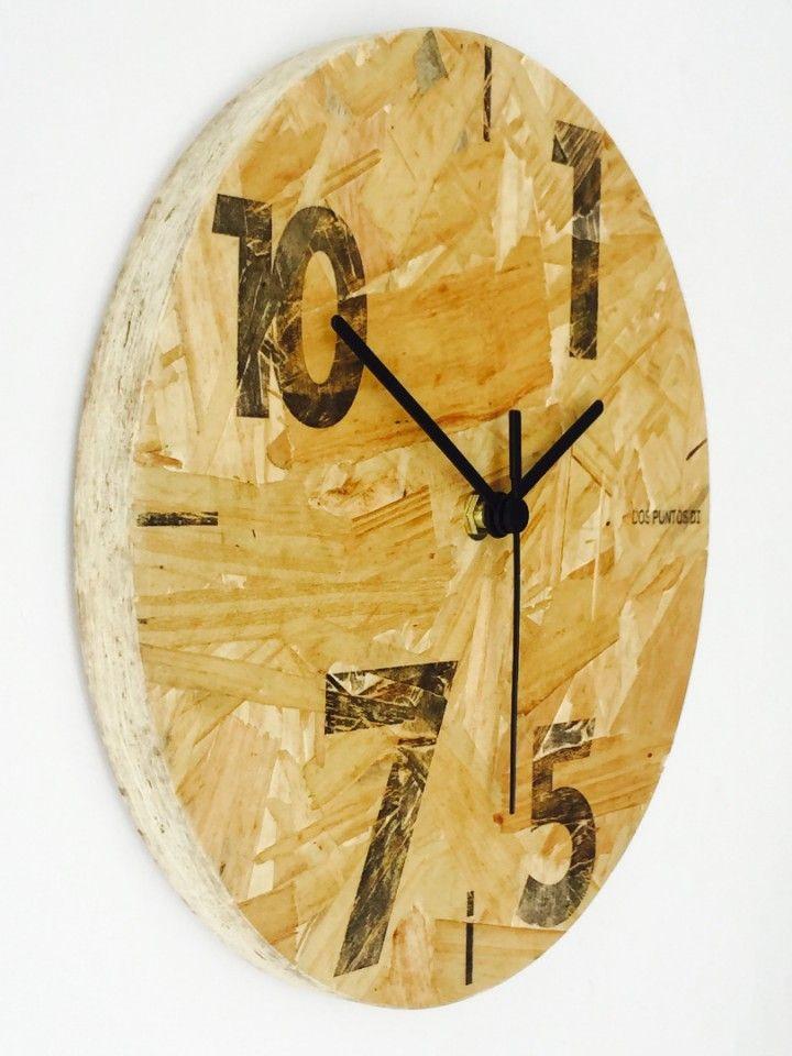 Materiales > Descarte de OSB Confeccionado por > Cooperativa de reciclado de maderas. Medidas > 16 cm de diametro