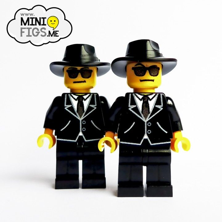 Blues brothers lego style home.
