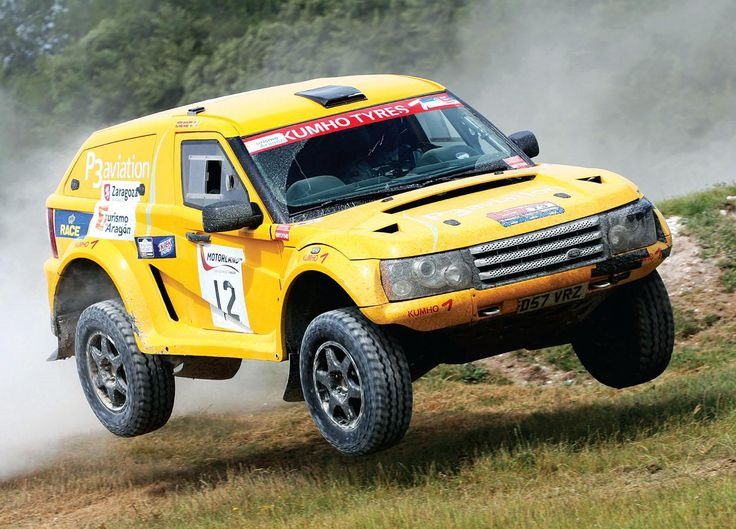 Bowler Nemesis, 2007 Land Rover 2013 wall calendar