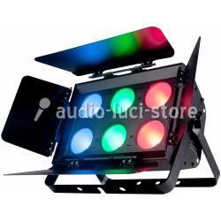 illuminatore di fondali tipo Domino ma colri e LED C.o.b.