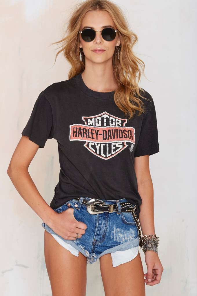 Vintage Harley Davidson Tee | Shop Vintage at Nasty Gal!
