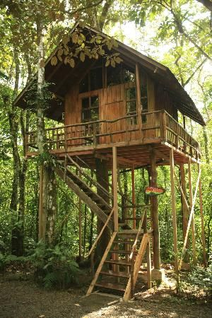 Sleep in a #treehouse (Tree Houses Hotel, Costa Rica)