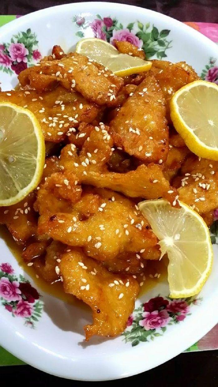 Resepi Ayam Masak Lemon Menitik Air Liur Bidadari My Lemon Chicken Lemon Food