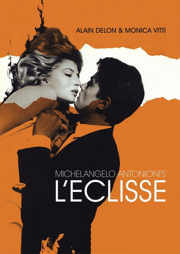 L'eclisse movie poster; Alain Delon & Monica Vitti  #OttoSteininger