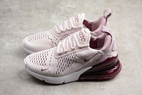 Nike Air Max 270 Barely Rose Womens Running Shoes AH6789 601